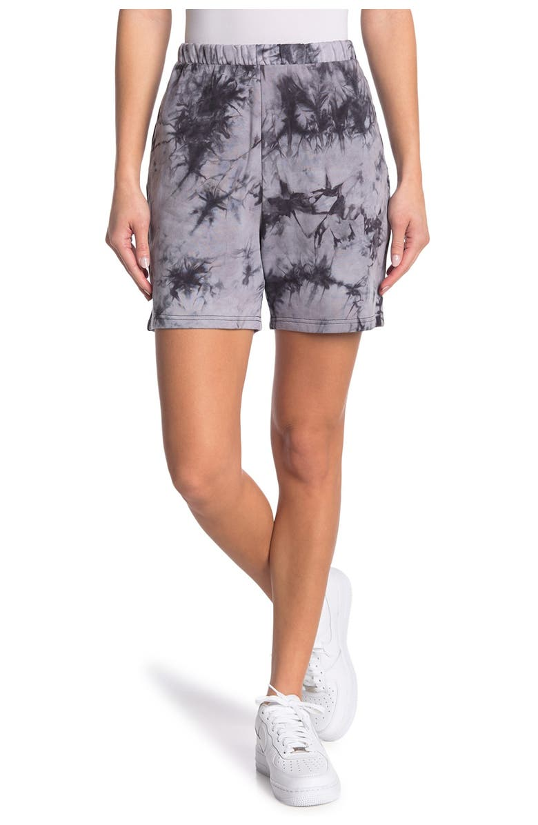 Z BY ZELLA Meadow French Terry Short, Main, color, BLACK