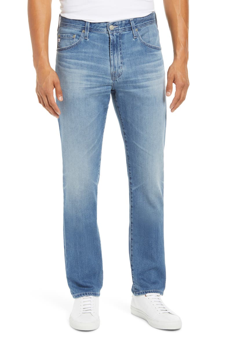 AG Everett Slim Straight Leg Jeans, Main, color, 14 YEARS KISMET