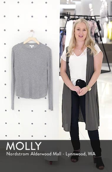 Easy Ribbed Sweater, sales video thumbnail