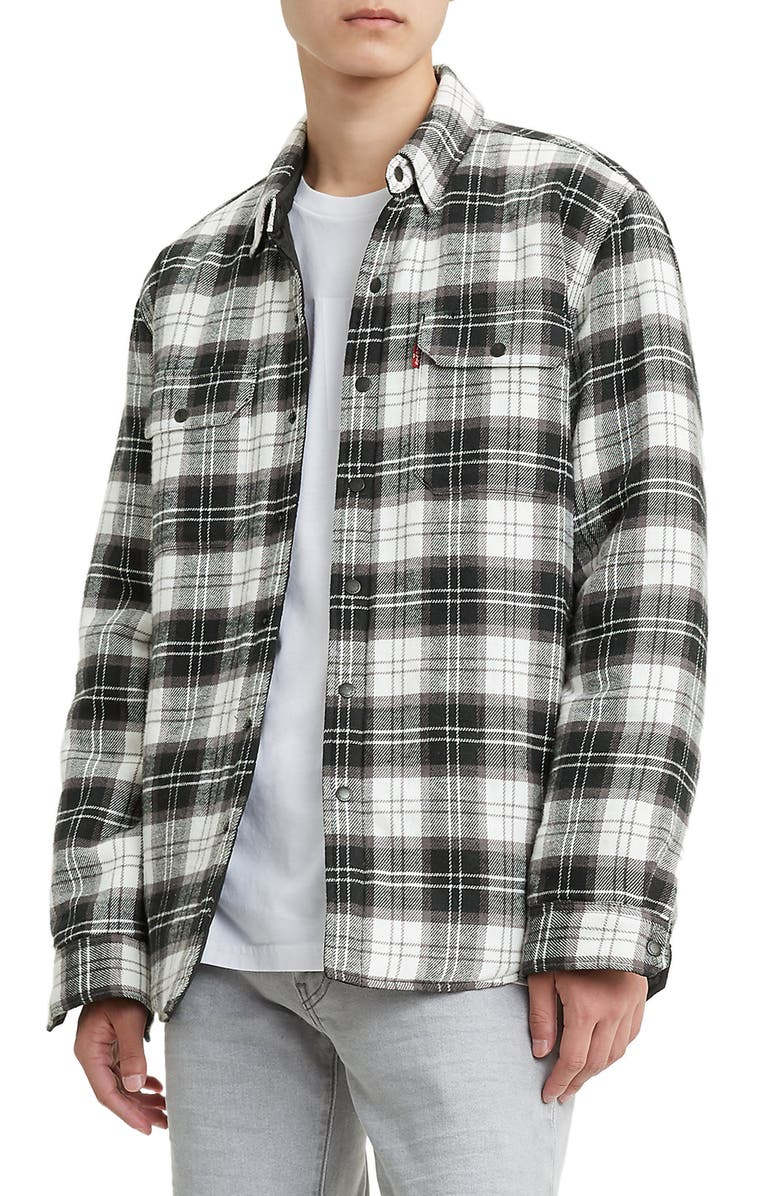 LEVI'S<SUP>®</SUP> Jackson Regular Fit Shirt Jacket, Main, color, 001