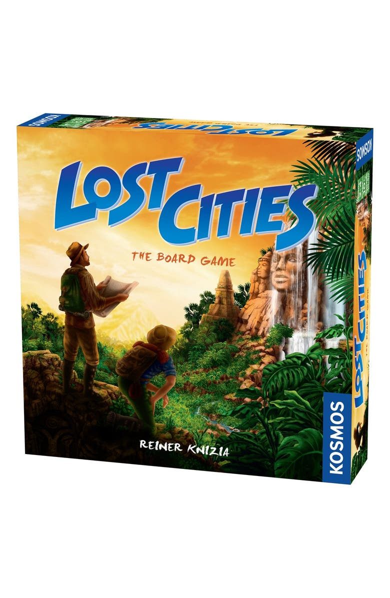 THAMES & KOSMOS 'Lost Cities - The Board Game', Main, color, 800