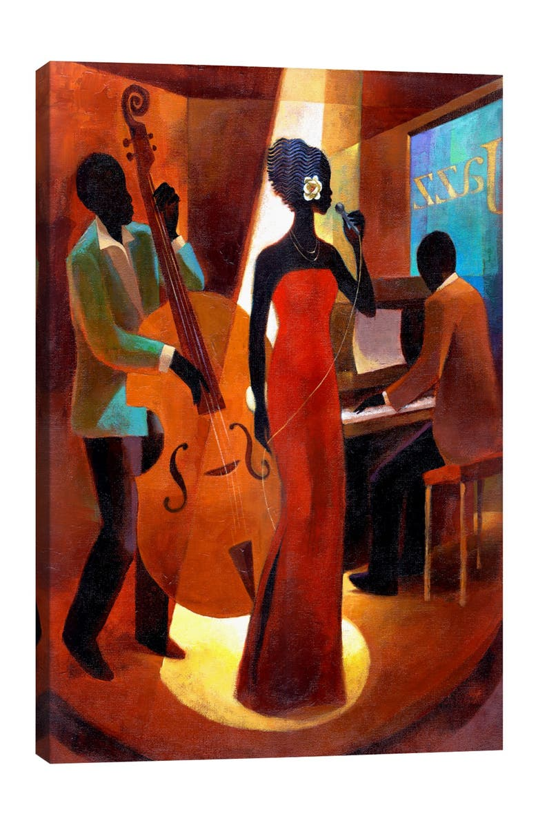 ICANVAS In A Sentimental Mood by Keith Mallett Wall Art, Main, color, MULTI