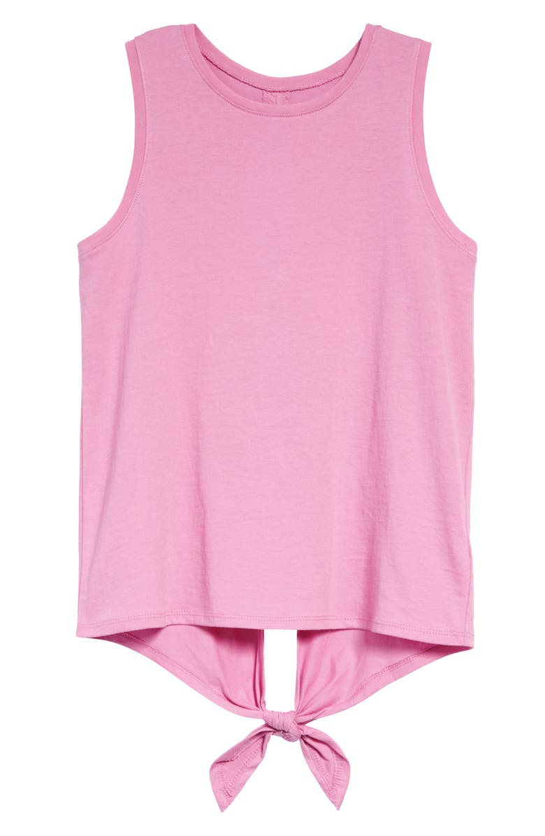 ZELLA GIRL Sassy Soft Tank, Main, color, PURPLE OPERA
