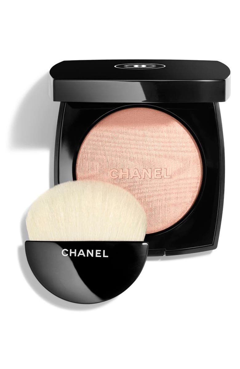 CHANEL HIGHLIGHTING <br />Powder Compact, Main, color, 30 ROSY GOLD
