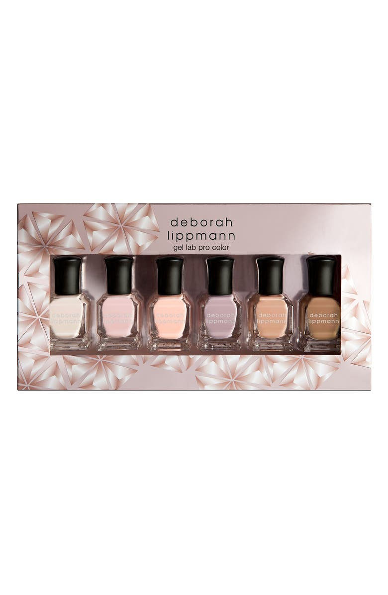 DEBORAH LIPPMANN Undressed Gel Lab Pro Nail Color Set, Main, color, NO COLOR