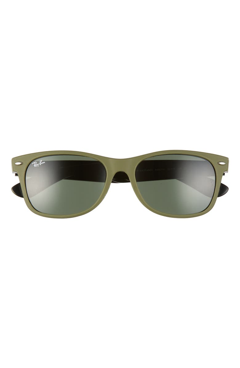 RAY-BAN 'New Wayfarer' 55mm Sunglasses, Main, color, 338