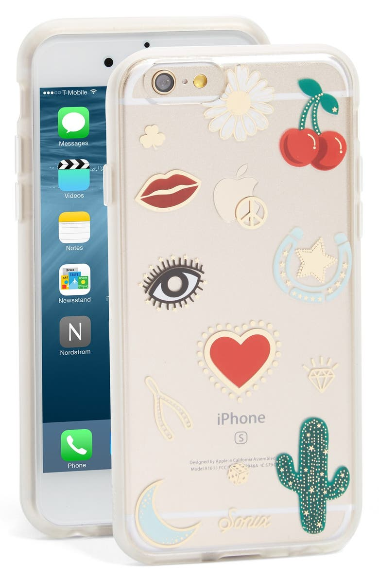 SONIX Wild West iPhone 6/6s Case, Main, color, RED