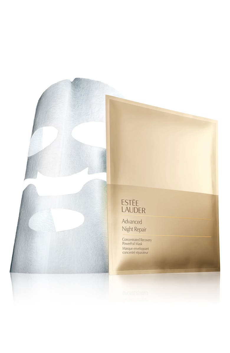 ESTÉE LAUDER Advanced Night Repair Concentrated Recovery PowerFoil Mask, Main, color, No Color