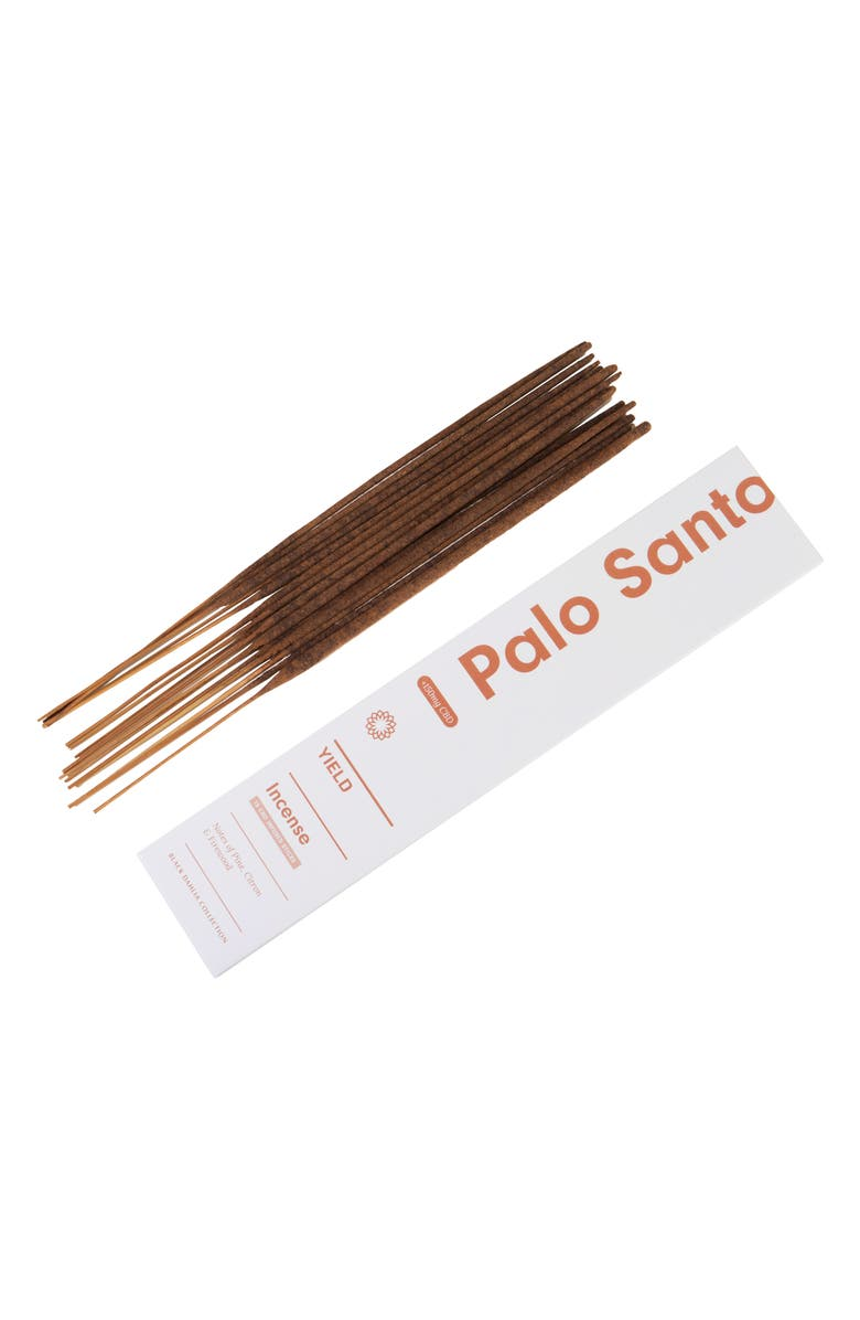 YIELD Palo Santo 15-Pack CBD Infused Incense Sticks, Main, color, 606