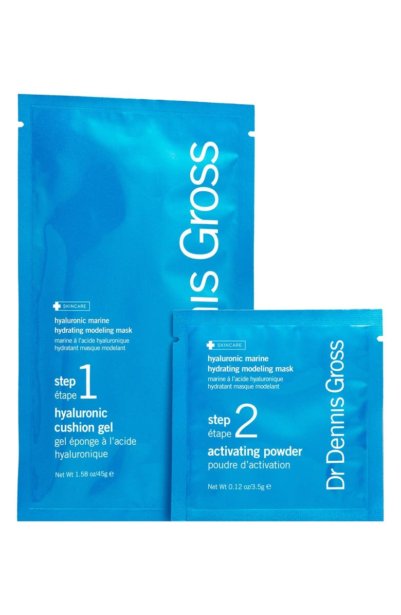 DR. DENNIS GROSS Skincare Hyaluronic Marine Hydrating Modeling Mask System, Main, color, NO COLOR