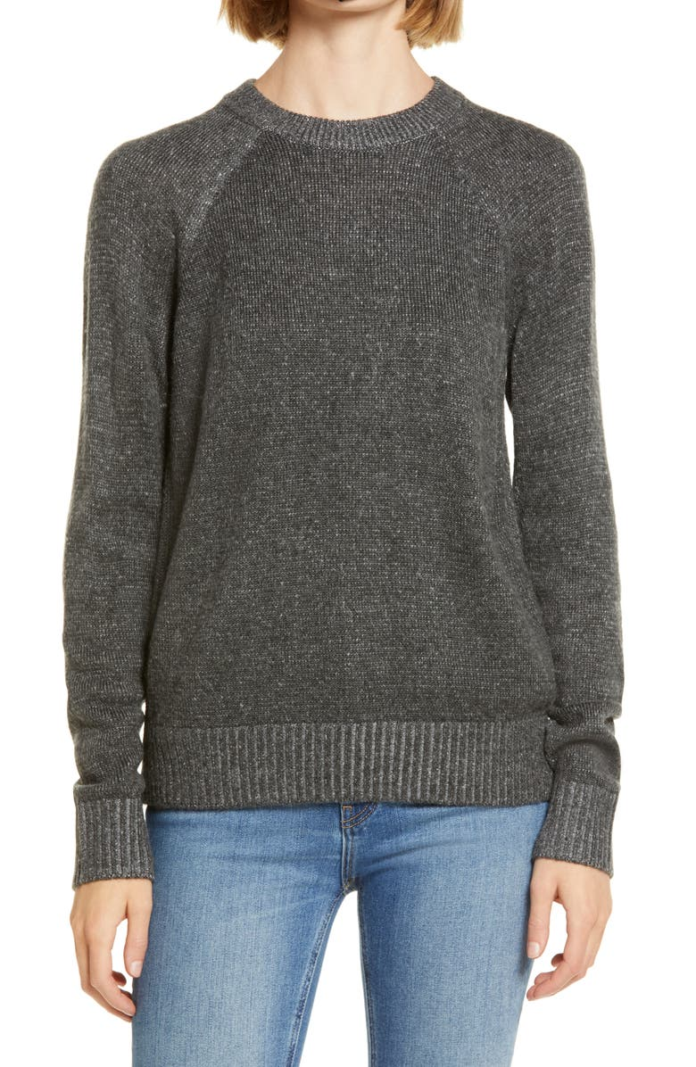 LOU & GREY Carly Pop Stripe Pullover, Main, color, 035