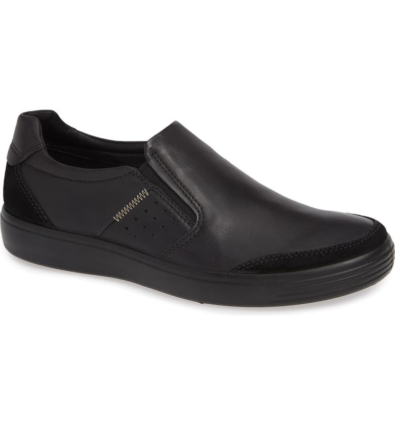 ECCO Soft 7 Relaxed Slip-On, Main, color, 009