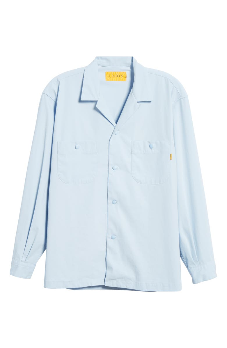 UNION LOS ANGELES Long Sleeve Button-Up Camp Shirt, Main, color, 400