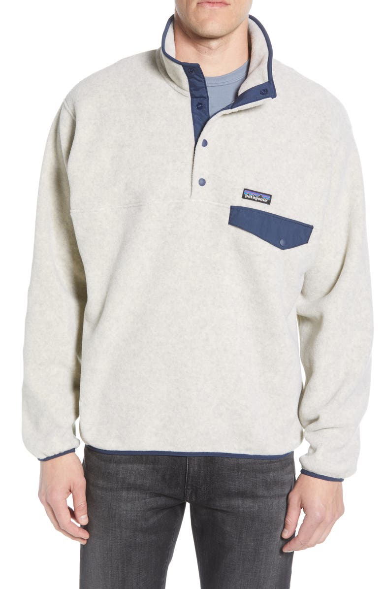 PATAGONIA Synchilla<sup>®</sup> Snap-T<sup>®</sup> Fleece Pullover, Main, color, OATMEAL HEATHER