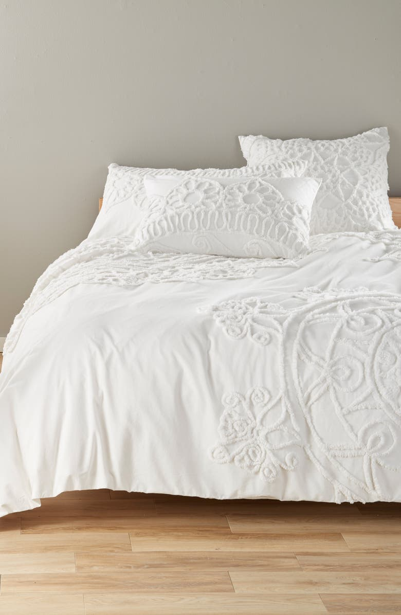 NORDSTROM at Home Tufted Duvet Cover, Main, color, 100