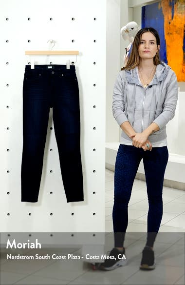 Muse High Waist Ankle Super Skinny Jeans, sales video thumbnail
