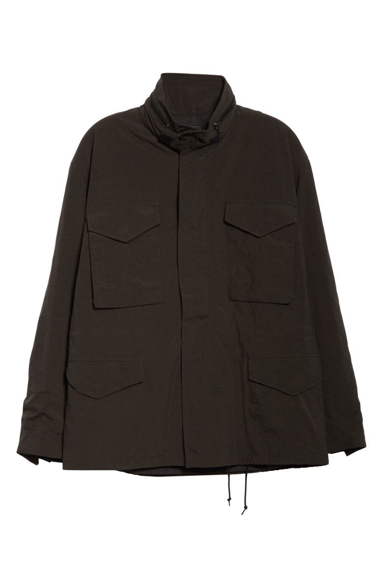 BEAMS PLUS M-65 Nylon Field Jacket, Main, color, 001