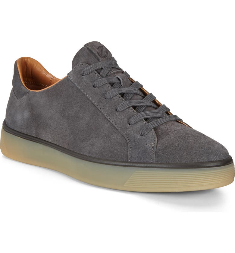 ECCO Street Tray Suede Sneaker, Main, color, 062