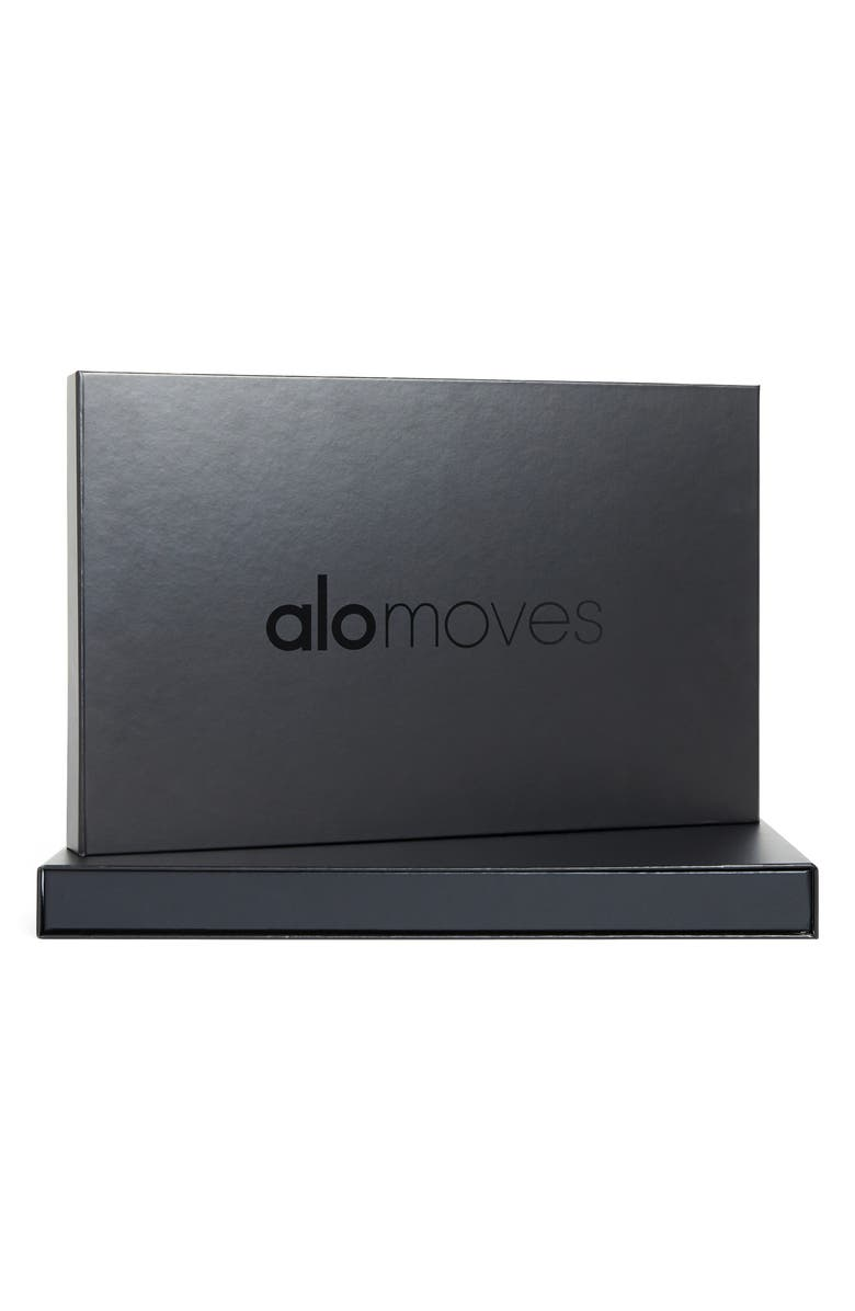 ALO Moves One-Year Membership Gift Box, Main, color, BLACK/ WHITE