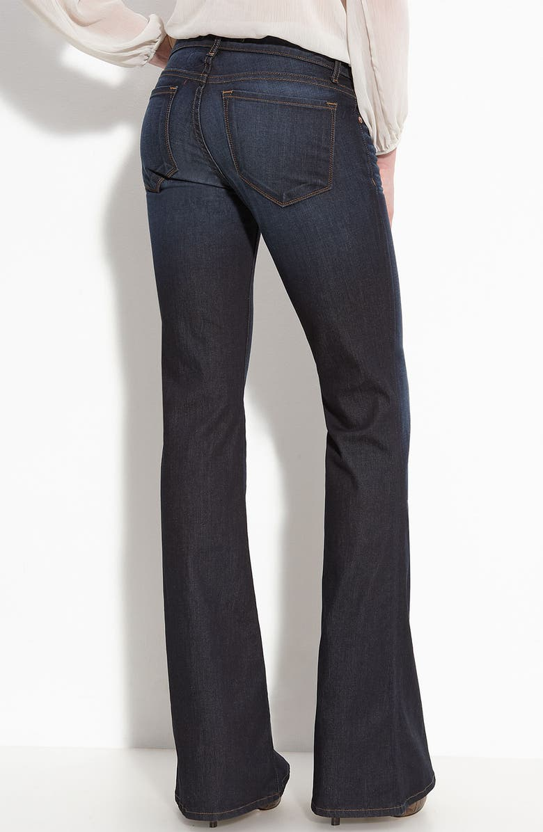 J BRAND 'Babe' Flare Leg Stretch Jeans, Main, color, 403