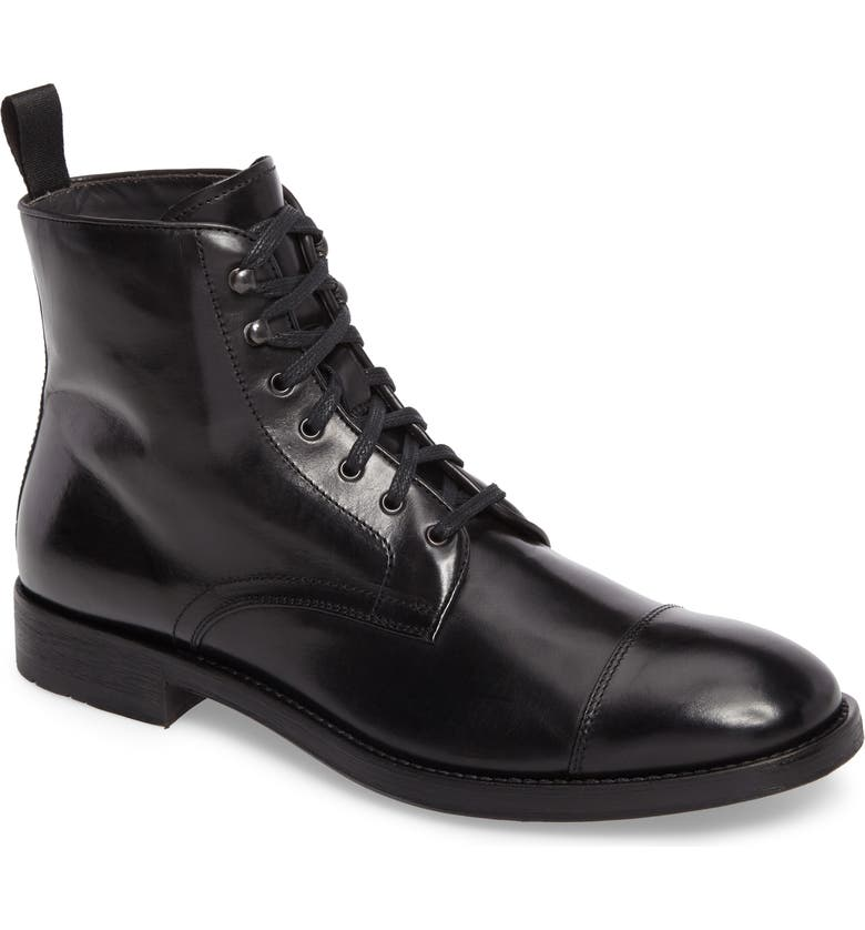 TO BOOT NEW YORK Bondfield Cap Toe Boot, Main, color, 001