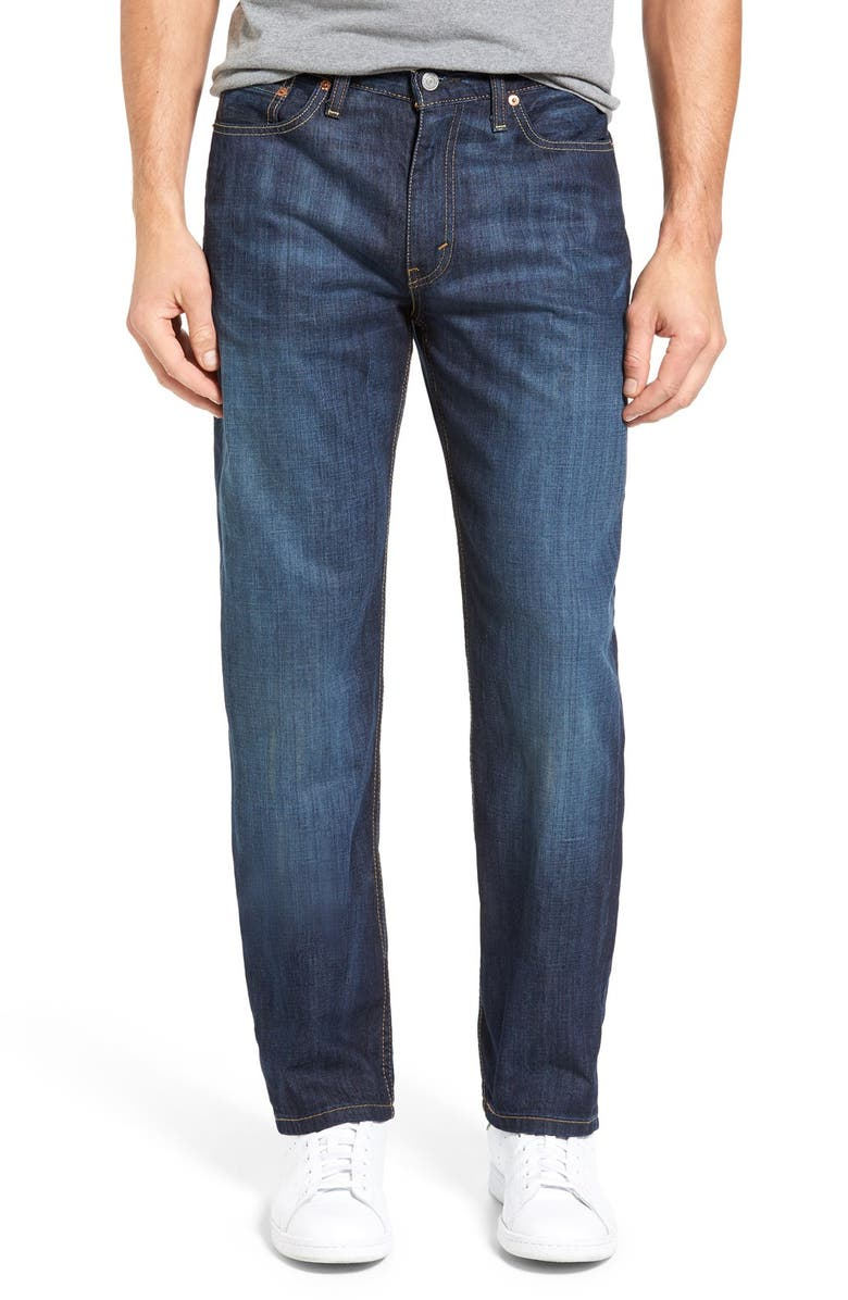LEVI'S<SUP>®</SUP> 514<sup>™</sup> Straight Leg Jeans, Main, color, SHOESTRING