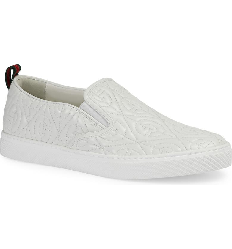 GUCCI Quilted Sneaker, Main, color, 130