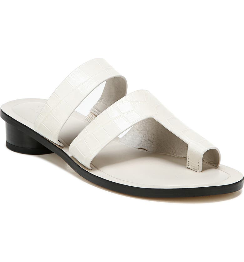 SARTO BY FRANCO SARTO Trixie Slide Sandal, Main, color, PUTTY/PUTTY LEATHER
