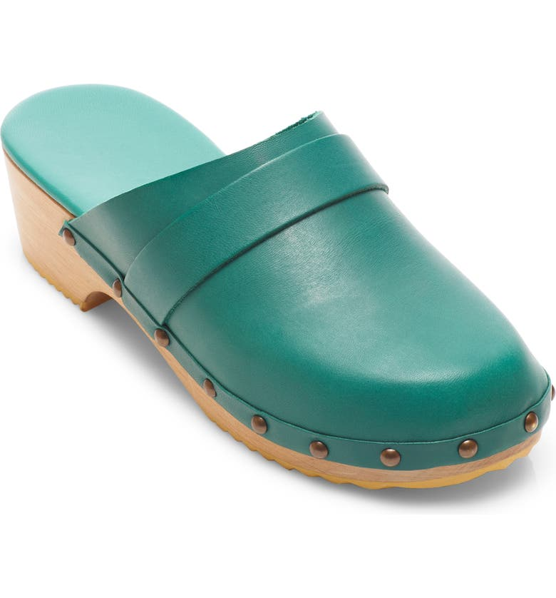 FREE PEOPLE Callum Clog, Main, color, SURFER LEATHER