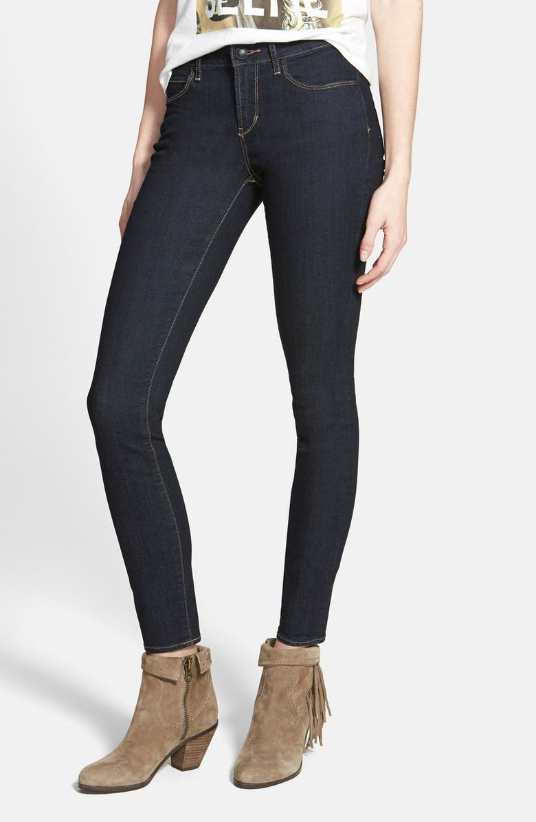ARTICLES OF SOCIETY 'Lana' Skinny Jeans, Main, color, CLASSIC WASH