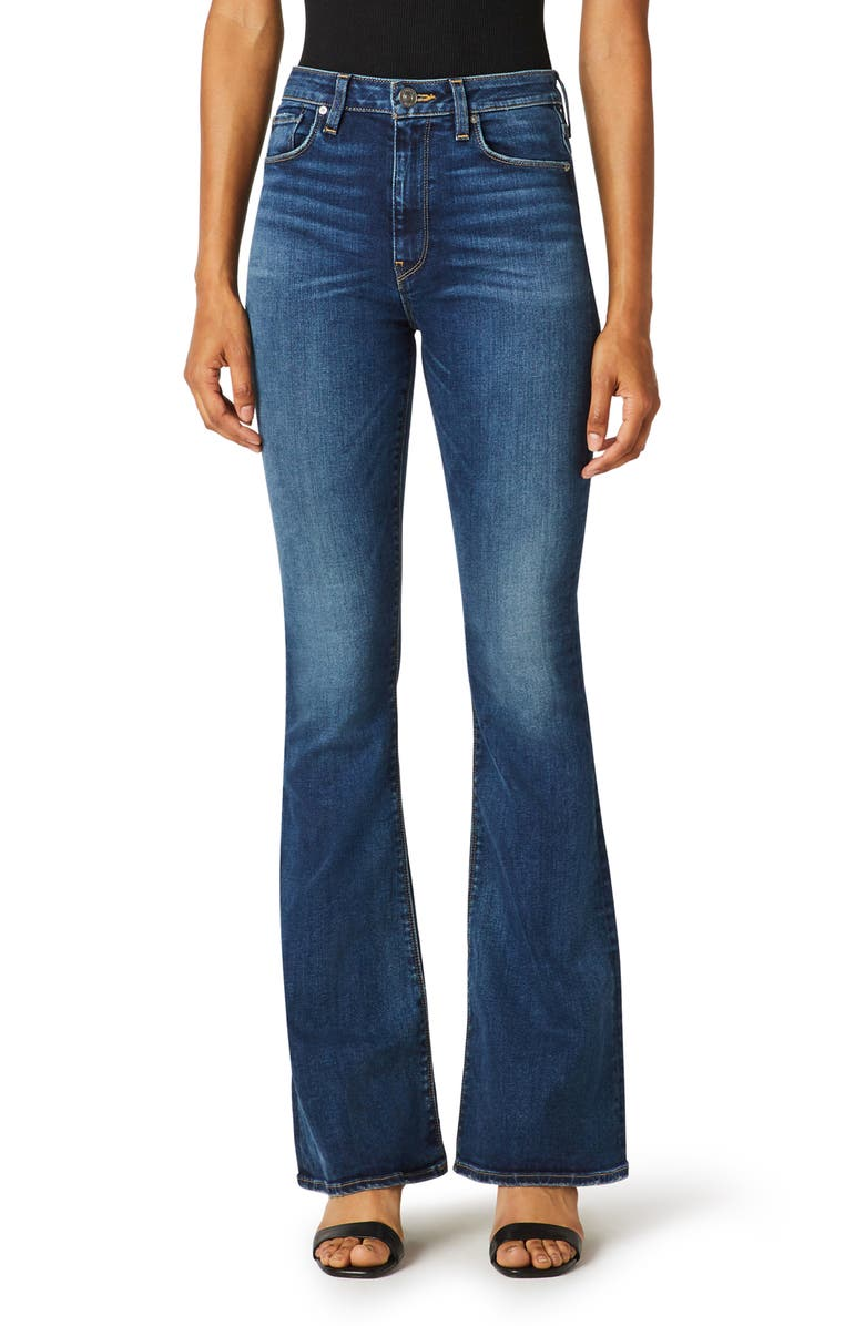 HUDSON JEANS Holly High Waist Flare Jeans, Main, color, PART TIME