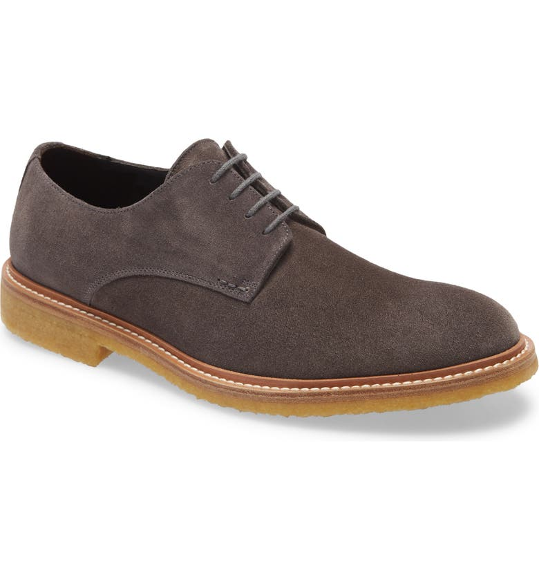 TO BOOT NEW YORK Park Plain Toe Derby, Main, color, GREY