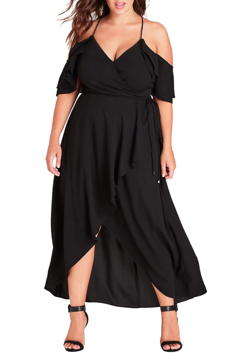 CITY CHIC Miss Jessica Maxi Dress, Main, color, 011