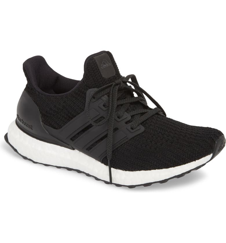 ADIDAS UltraBoost Running Shoe, Main, color, CORE BLACK/ CORE BLACK