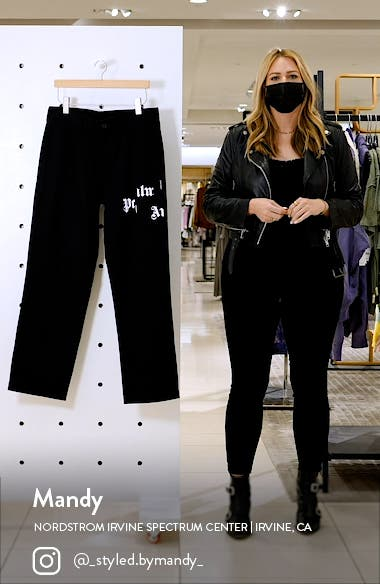 Broken Logo Chino Pants, sales video thumbnail