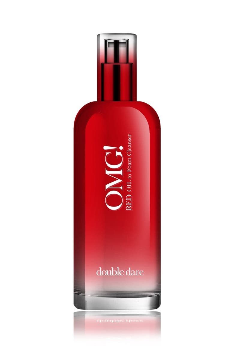 OMG DOUBLE DARE OMG! Red Oil to Foam Cleanser, Main, color, NO COLOR