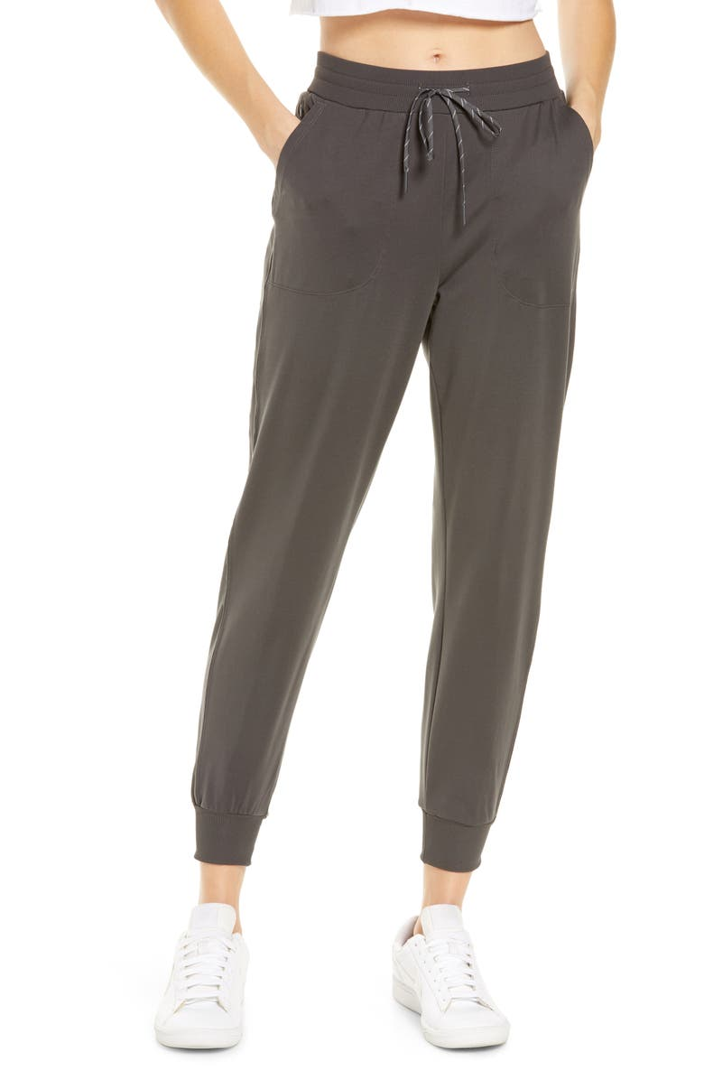 ZELLA Live In Pocket Joggers, Main, color, GREY FORGED