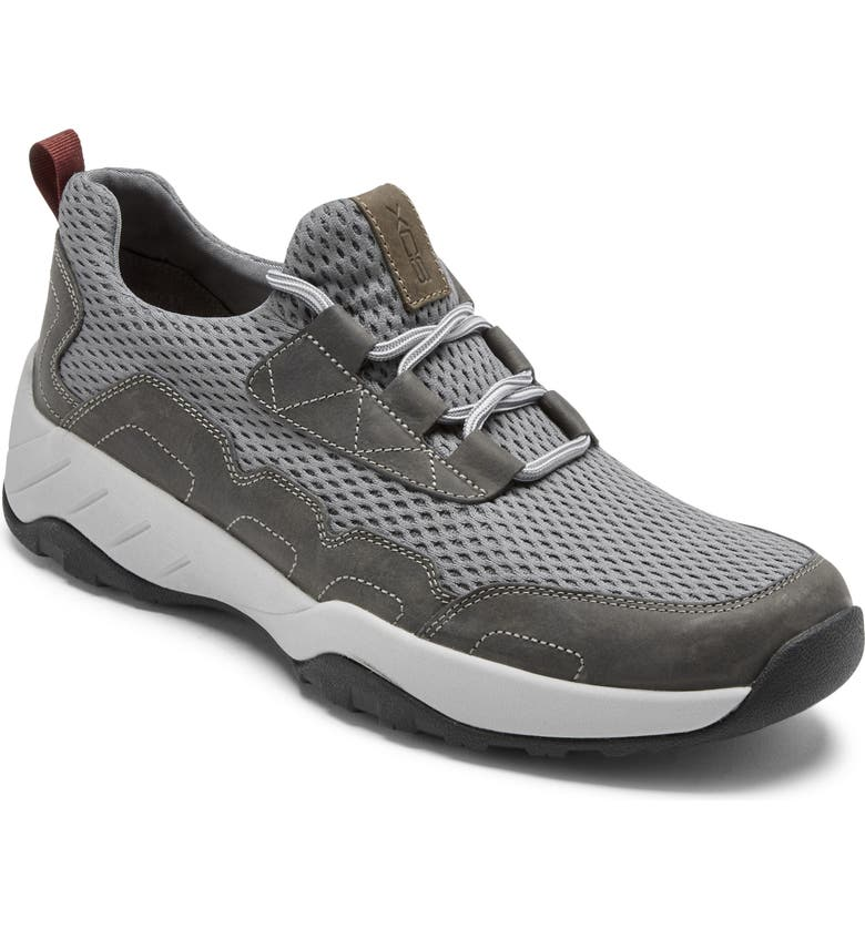 ROCKPORT XCS Spruce Peak 2 Sneaker, Main, color, GREY LEATHER/ MESH