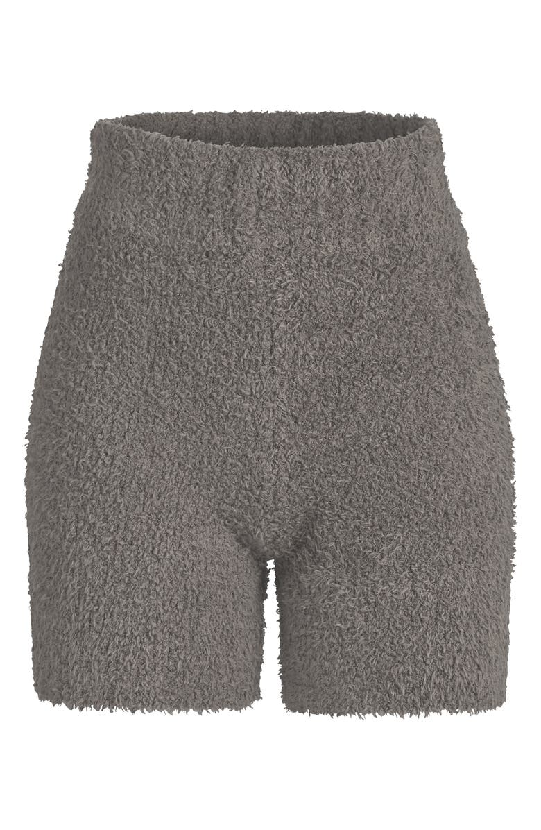 SKIMS Cozy Knit Shorts, Main, color, SMOKE