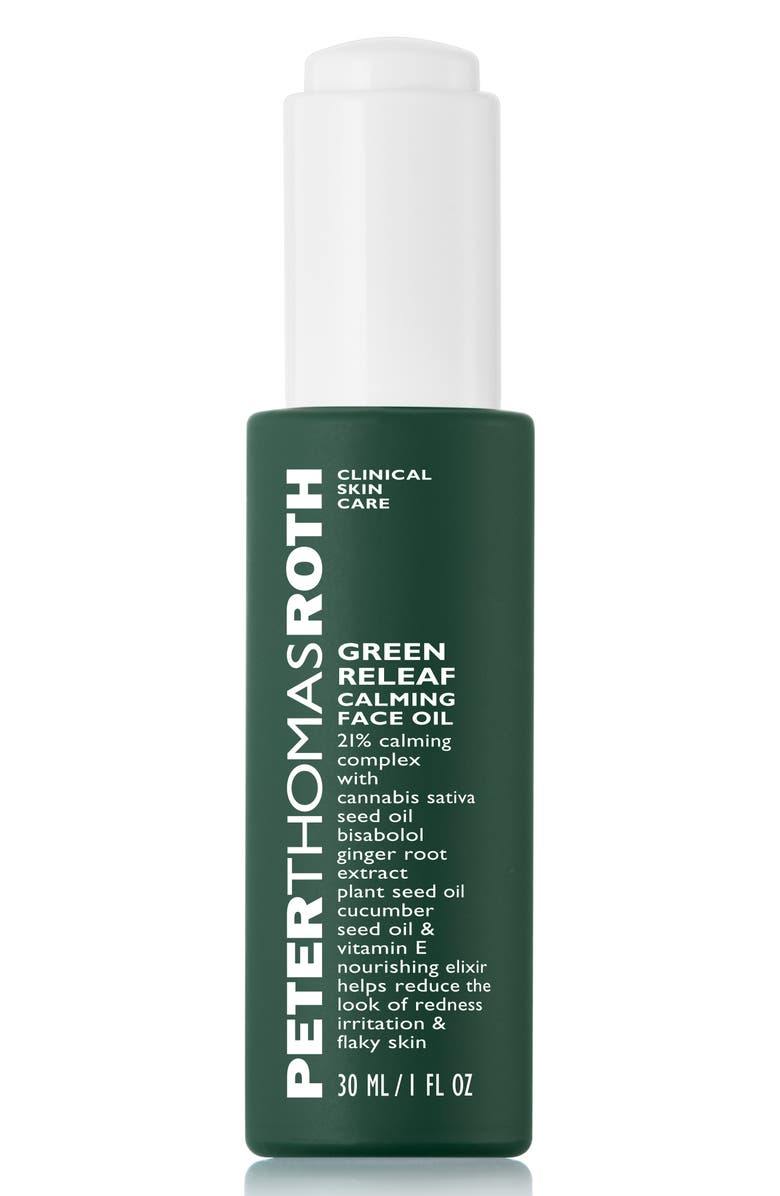 PETER THOMAS ROTH Green Releaf Calming Face Oil, Main, color, 000