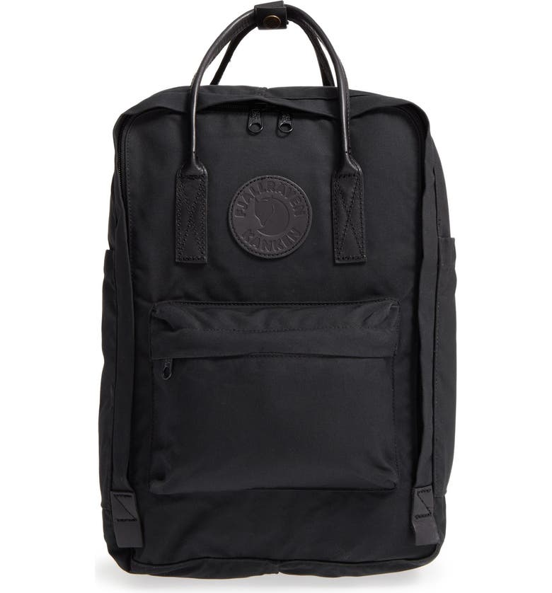 FJÄLLRÄVEN Kånken No. 2 Laptop Backpack, Main, color, BLACK