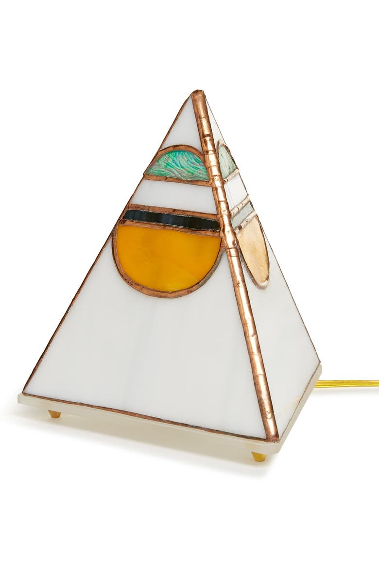 FRIEND OF ALL Pyramid Moonrise Sunset Lamp, Main, color, 100