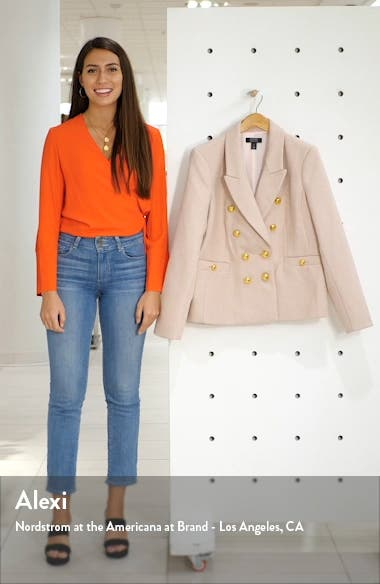 x Atlantic-Pacific Double Breasted Blazer, sales video thumbnail