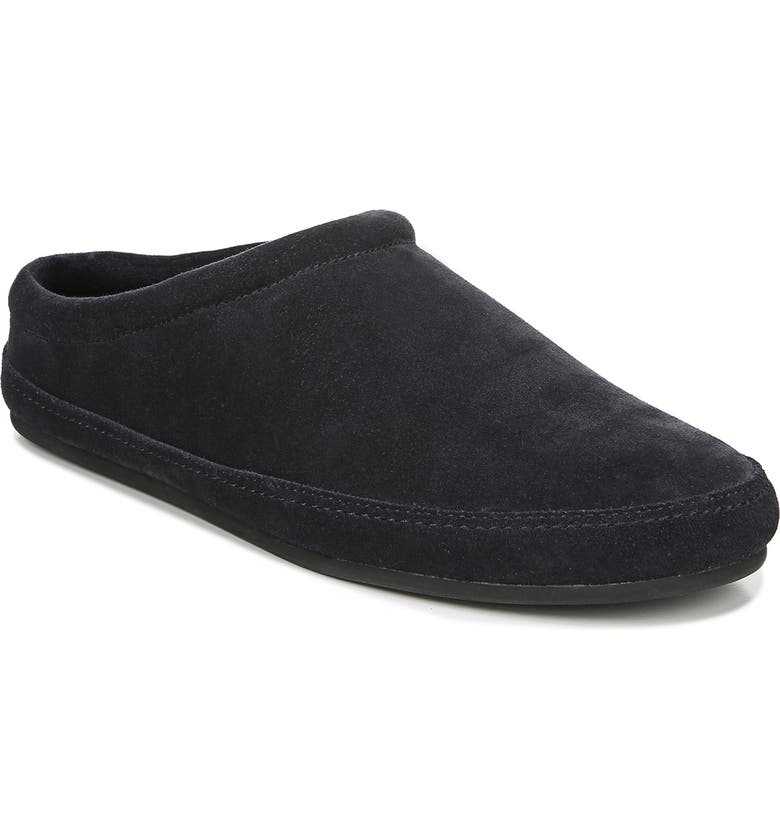 VINCE Howell Faux Shearling Lined Slipper, Main, color, COASTAL
