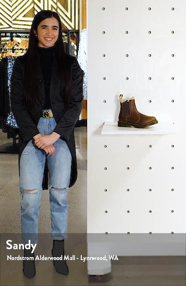 Leonore Faux Fur Lined Chelsea Boot, sales video thumbnail