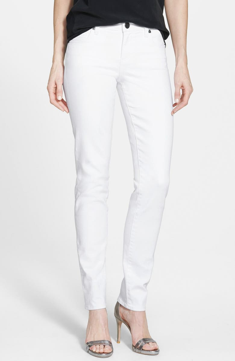 KUT FROM THE KLOTH 'Diana' Skinny Jeans, Main, color, White
