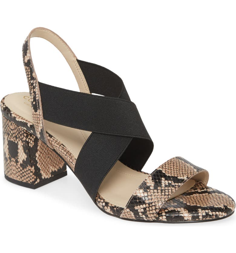 COLE HAAN Aniston Sandal, Main, color, AMPHORA SNAKE PRINT LEATHER
