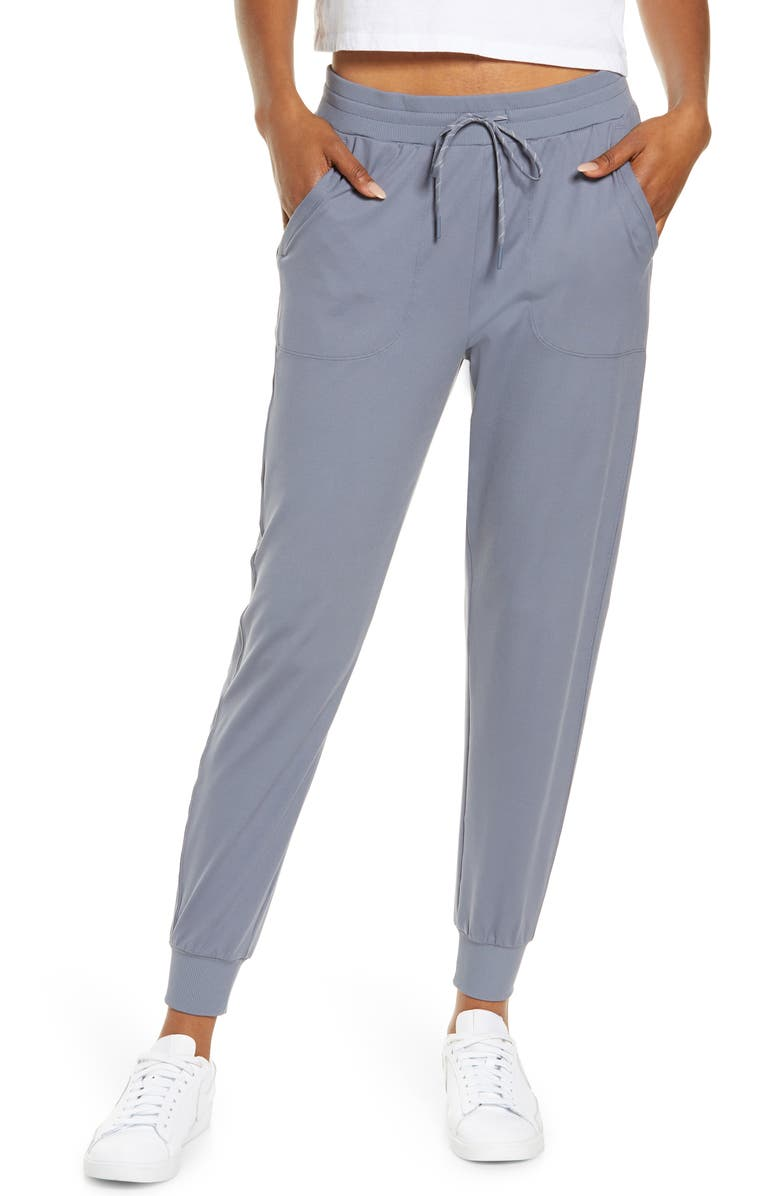 ZELLA Live In Jogger Pants, Main, color, GREY FOLKSTONE