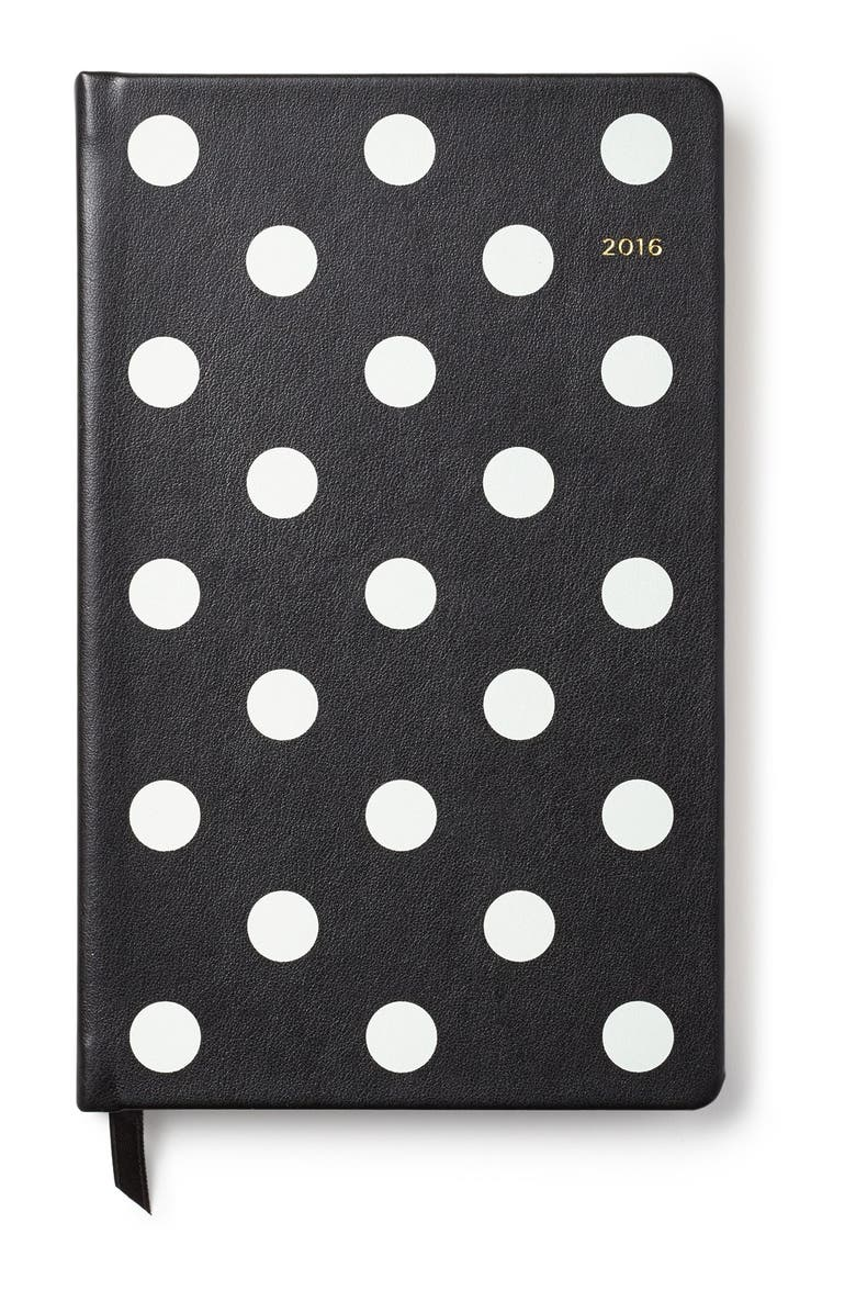 KATE SPADE NEW YORK 12-month 2016 planner, Main, color, 001