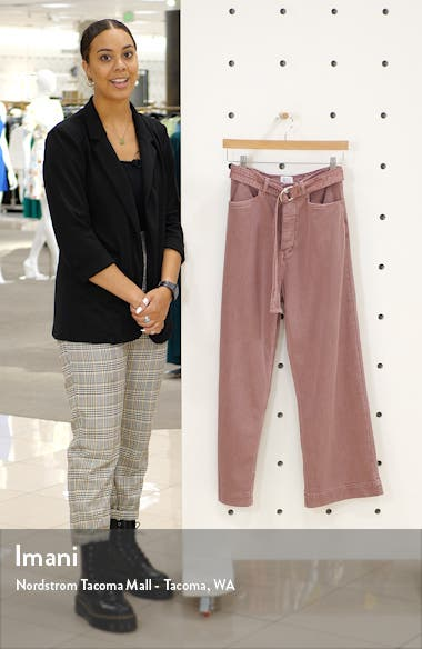 Belted Flood Jeans, sales video thumbnail
